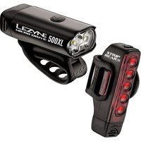 Lezyne Micro 500L and Strip 150L Pair